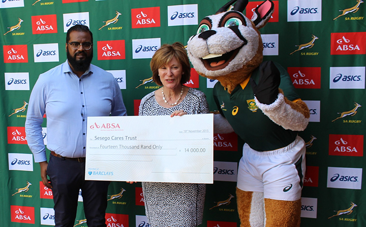 Hand over from Springbok Campaign